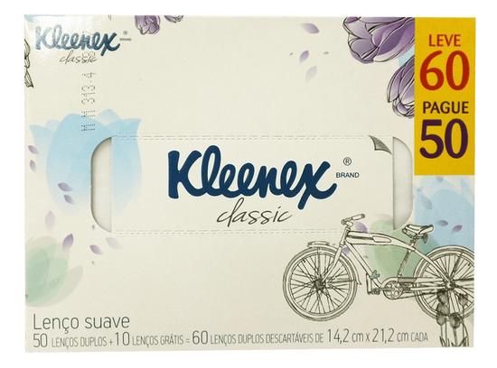 Imagem de Lenço de papel bolso kleenex c/60