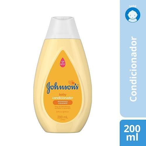 Imagem de Condicionador infantil johnson johnson 200ml regular