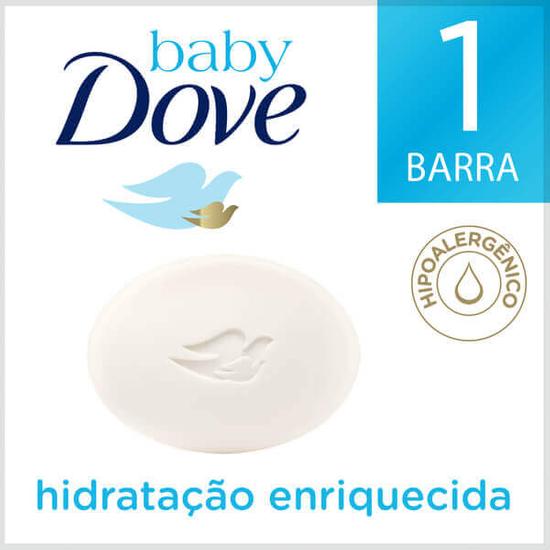 Imagem de Sabonete em barra infantil dove baby 75g hidratação enriquecida