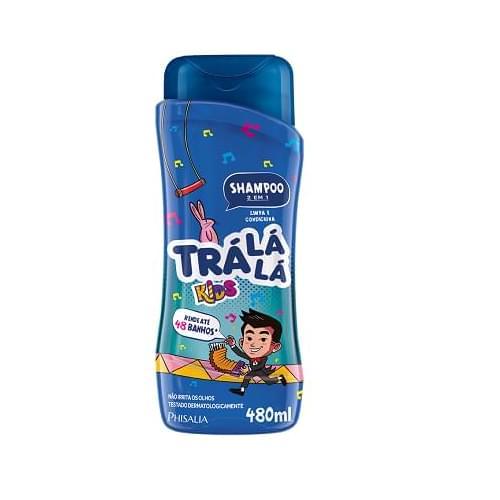 Imagem de Shampoo infantil trá lá lá 480ml 2x1 kids