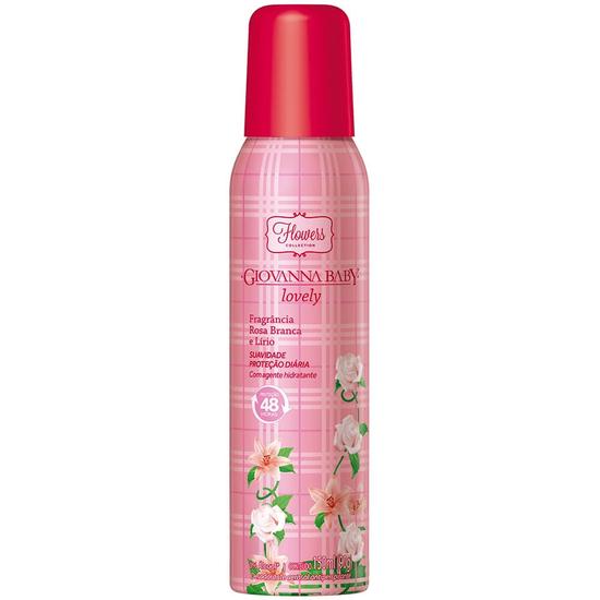 Imagem de Desodorante aerosol giovanna baby 150ml lovely