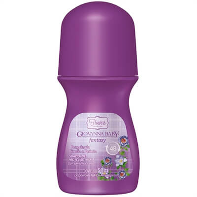 Imagem de Desodorante roll-on giovanna baby 50ml fantasy