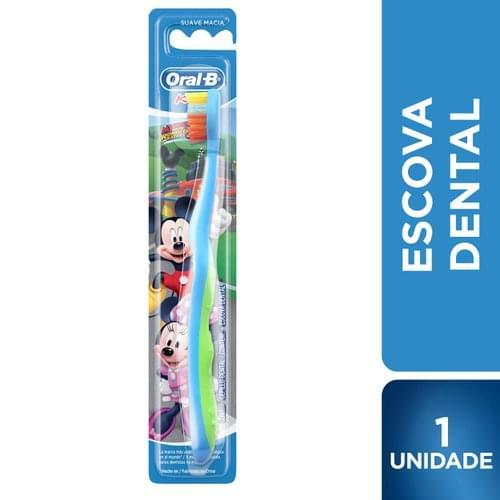 Imagem de Escova dental macia oral-b kids mickey