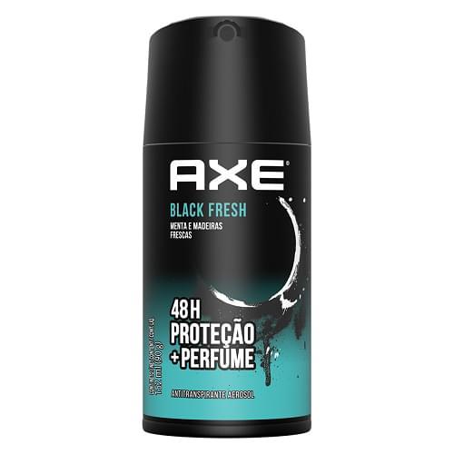Imagem de Desodorante aerosol axe 90g black
