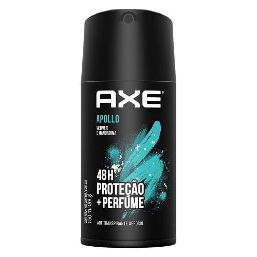 Imagem de Desodorante aerosol axe 96g apollo
