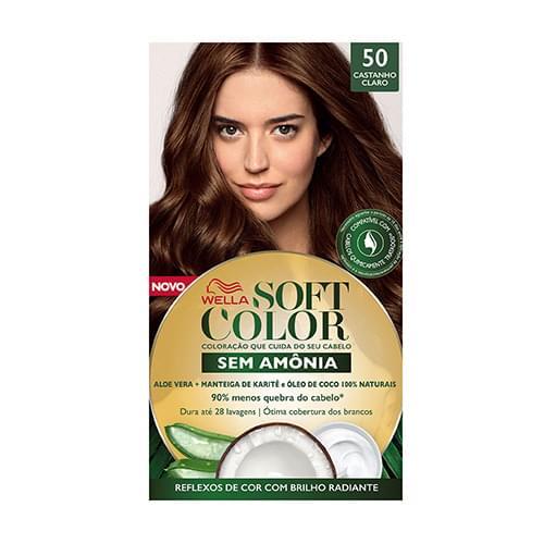 Imagem de Tintura semi permanente soft color 50 castanho claro