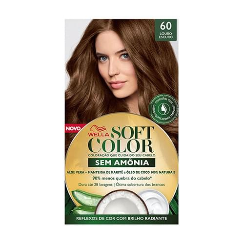 Imagem de Tintura semi permanente soft color 60 louro escuro