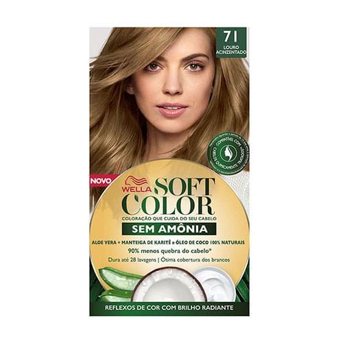 Imagem de Tintura semi permanente soft color 71 louro cinza médio
