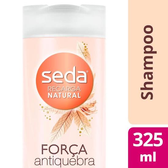 Imagem de Shampoo uso diário seda 325ml mel antiquebra