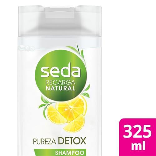 Imagem de Shampoo uso diário seda 325ml pureza detox