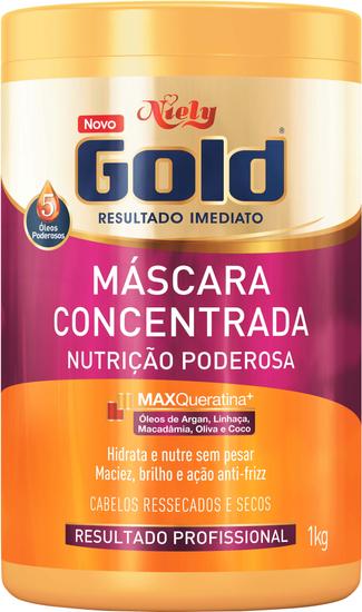 Imagem de Creme tratamento niely gold 1kg nutrição poderosa