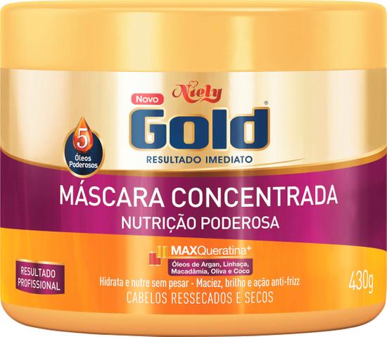 Imagem de Creme tratamento niely gold 430g nutrição poderosa