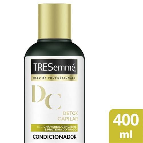 Imagem de Condicionador uso diário tresemmé 400ml detox capilar