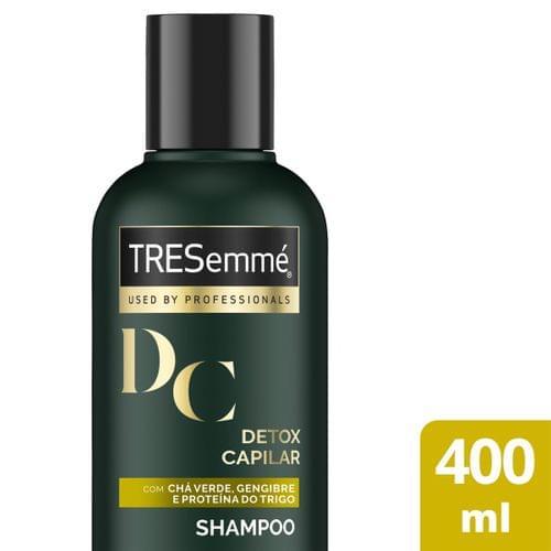 Imagem de Shampoo uso diário tresemmé 400ml detox capilar