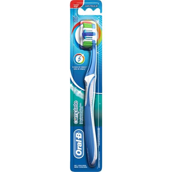 Imagem de Escova dental macia oral-b complete 5