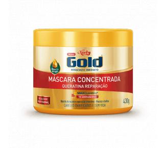 Imagem de Creme tratamento niely gold 430g queratina