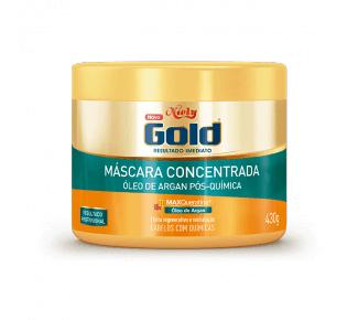 Imagem de Creme tratamento niely gold 430g óleo argan