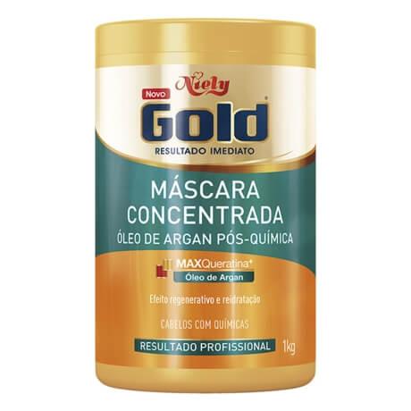 Imagem de Creme tratamento niely gold 1kg óleo argan