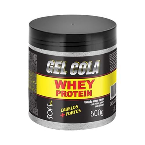 Imagem de Gel fixador softfix 500g whey protein