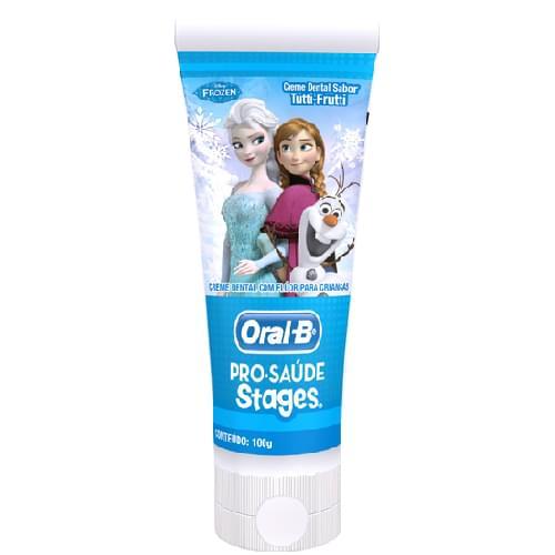 Imagem de Creme dental tradicional oral-b 100g frozen