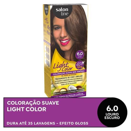 Imagem de Tintura semi permanente light color 6.0 louro escuro