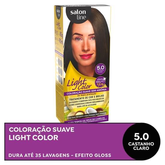 Imagem de Tintura semi permanente light color 5.0 castanho claro
