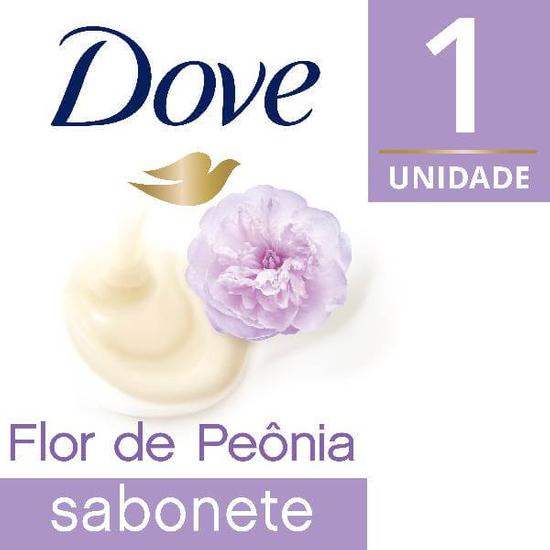 Imagem de Sabonete em barra uso diário dove 90g leite flor de peonia