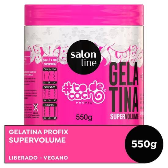 Imagem de Gel uso diário salon line 500g gelatina mix todecachos