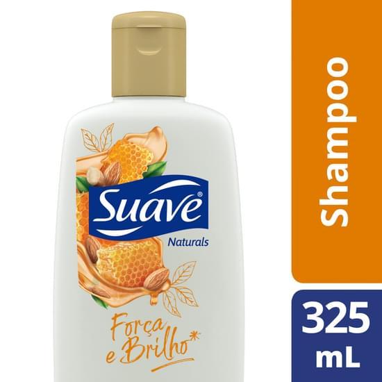 Imagem de Shampoo uso diário suave 325ml mel e amêndoa