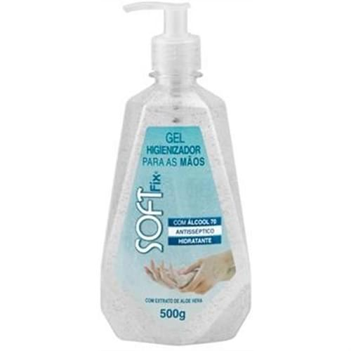 Imagem de Gel antisséptico softfix 500ml p/maos cream refil