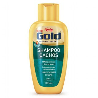 Imagem de Shampoo uso diário niely gold 300ml cachos