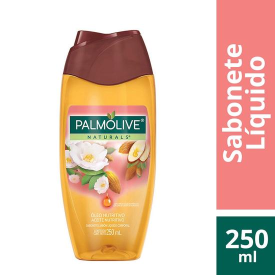 Imagem de Sabonete líquido uso diário palmolive 250ml óleo nutritivo