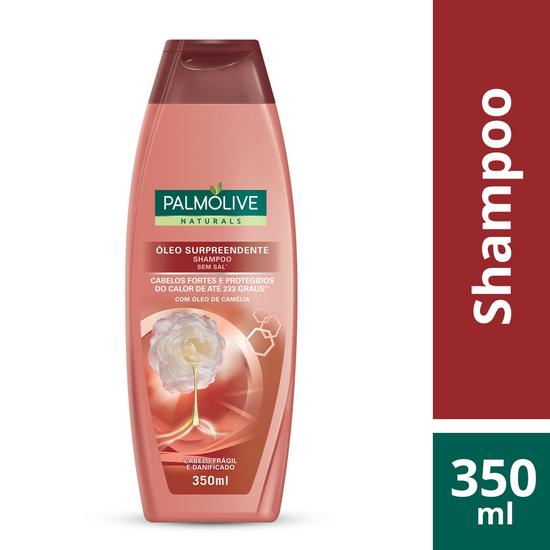 Imagem de Shampoo uso diário palmolive 350ml óleo surpreendente