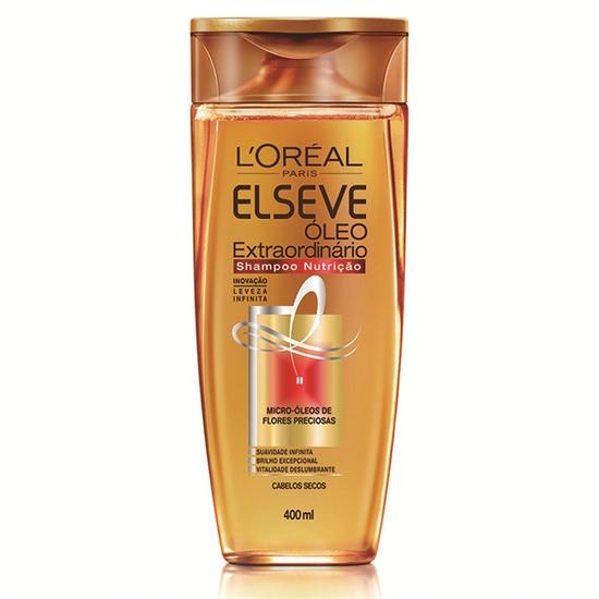 Imagem de Shampoo uso diário elséve 400ml óleo extraordinário nutrição