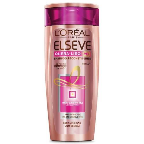 Imagem de Shampoo uso diário elséve 400ml quera liso