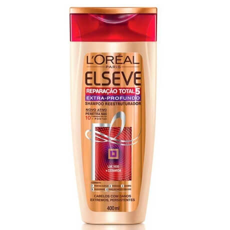 Imagem de Shampoo uso diário elséve 400ml reparação total5 extra profundo
