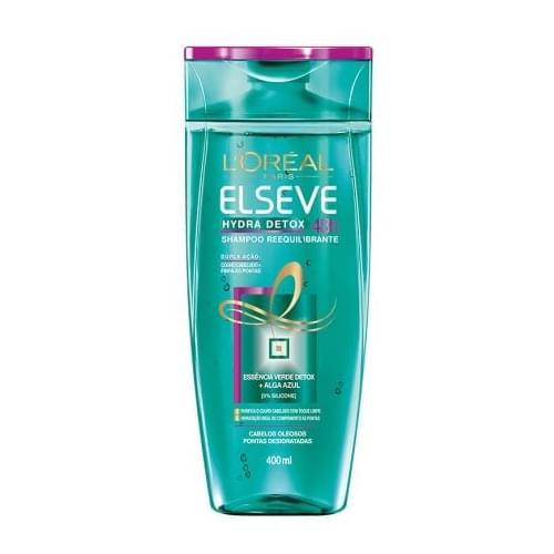 Imagem de Shampoo uso diário elséve 400ml hydra detox anti oleosidade