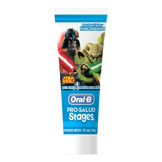 Imagem de Creme dental tradicional oral-b 100g stages stars wars