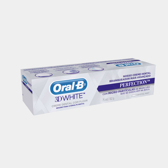 Imagem de Creme dental tradicional oral-b 102g 3d whit perfection