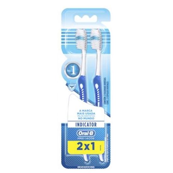 Imagem de Escova dental macia oral-b c/2 indicator plus 40 l2p1