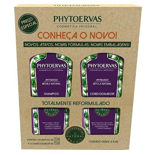 Imagem de Kit sh + co phytoervas 250ml antiqueda