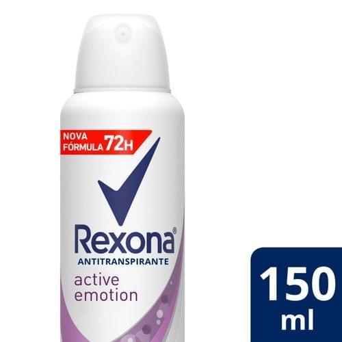 Imagem de Desodorante aerosol rexona 150ml fem active emotion