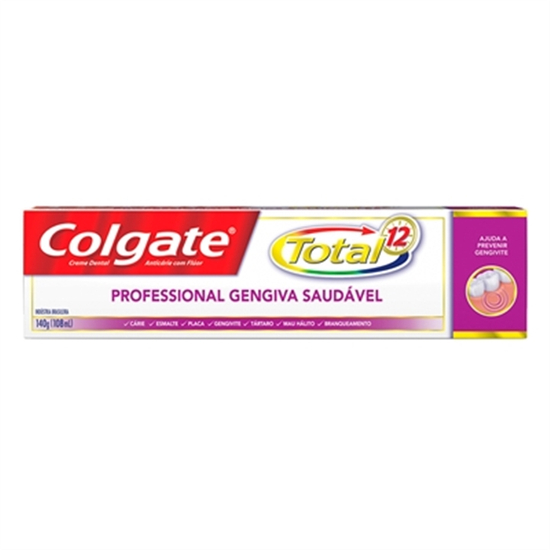 Imagem de Creme dental terapeutico colgate 140g gum