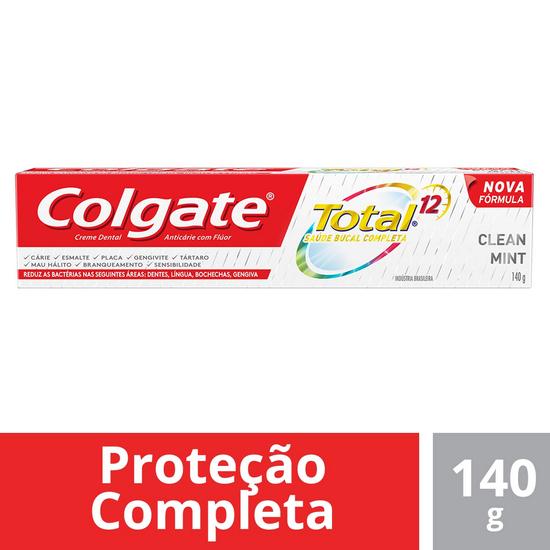 Imagem de Creme dental terapeutico colgate 140g clean mint
