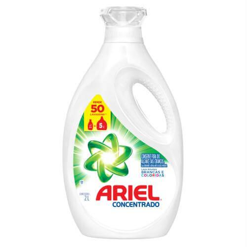 Imagem de Lava-roupas líquido ariel 2l 50 lavagens