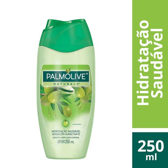 Imagem de Sabonete líquido uso diário palmolive 250ml aloe e oliva