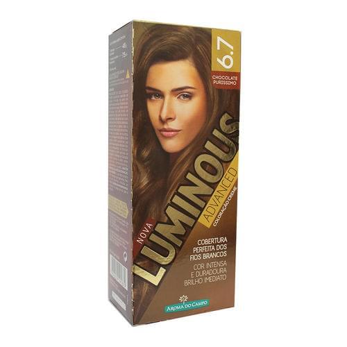 Imagem de Tintura permanente luminous 6.7 chocolate purissimo