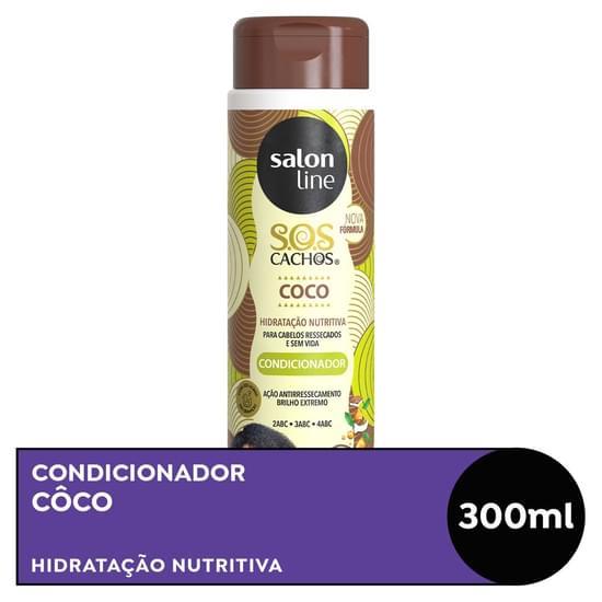 Imagem de Condicionador uso diário salon line 300ml sos coco