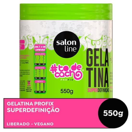 Imagem de Gel uso diário salon line 550g to de cacho não sai da cabeça