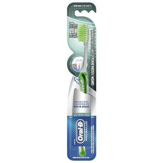 Imagem de Escova dental macia oral-b ultrafina
